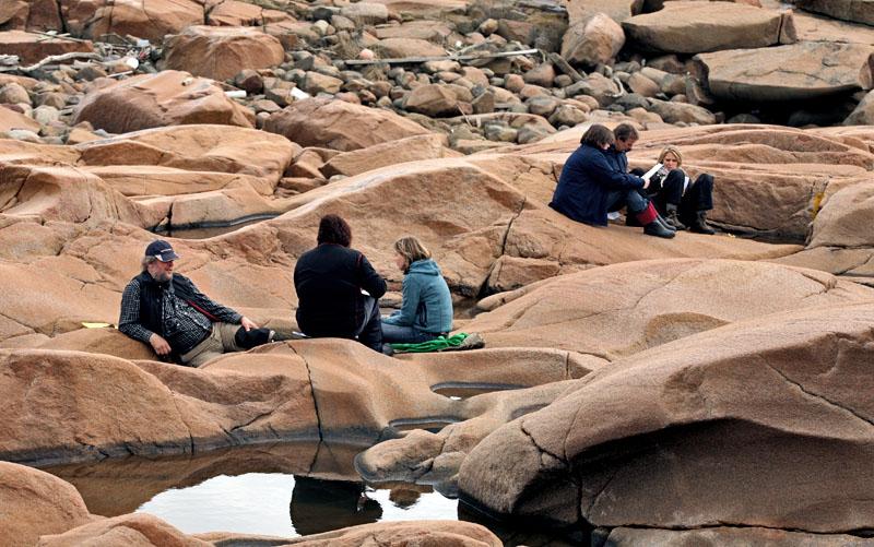 Samtal i granitlandskap, Bohuslän